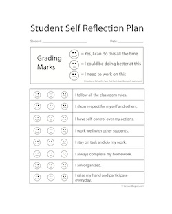Reflection clipart lesson plan #3