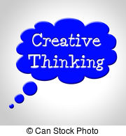 Creative clipart thought 708 Stock bubble Creative thinking