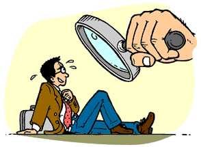 Reflection clipart teacher observation #10