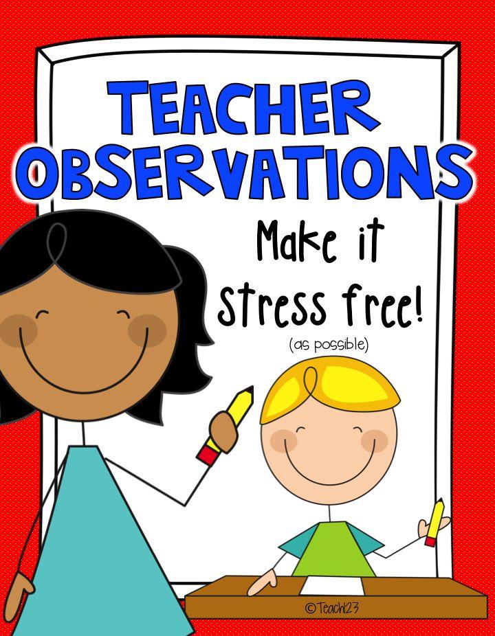 Reflection clipart teacher observation #6