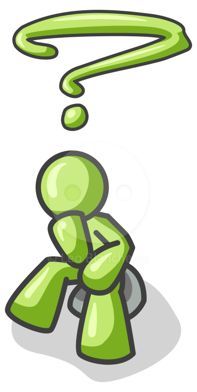 Reflection clipart thinker Clipartix thinking images clipart com