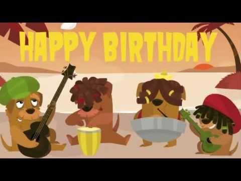 Reggae clipart animated YouTube Song Birthday Reggae Birthday