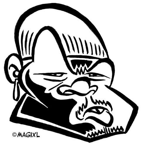 Reggae clipart black and white 50 of and Caricature reggae
