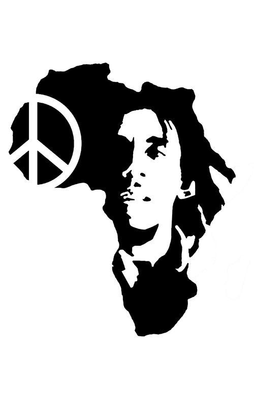 Reggae clipart black and white Reggae *Bob videos DJ *Bob