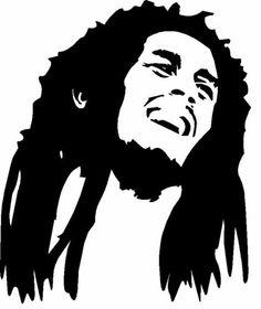Reggae clipart black and white More Marley* eBay and Bob
