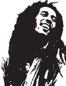 Reggae clipart black and white Public & royalty bob Bob