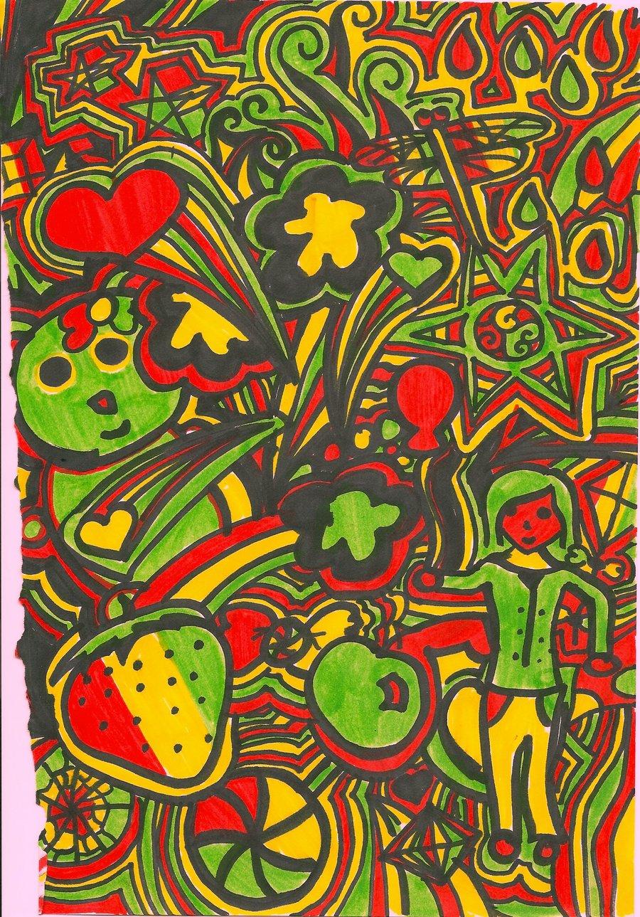 Reggae clipart doodle Animation Rasta Clipart Clip Download