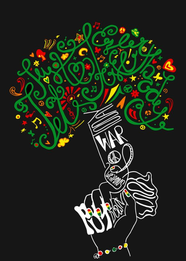 Reggae clipart doodle Poster Today Reggae about Contest