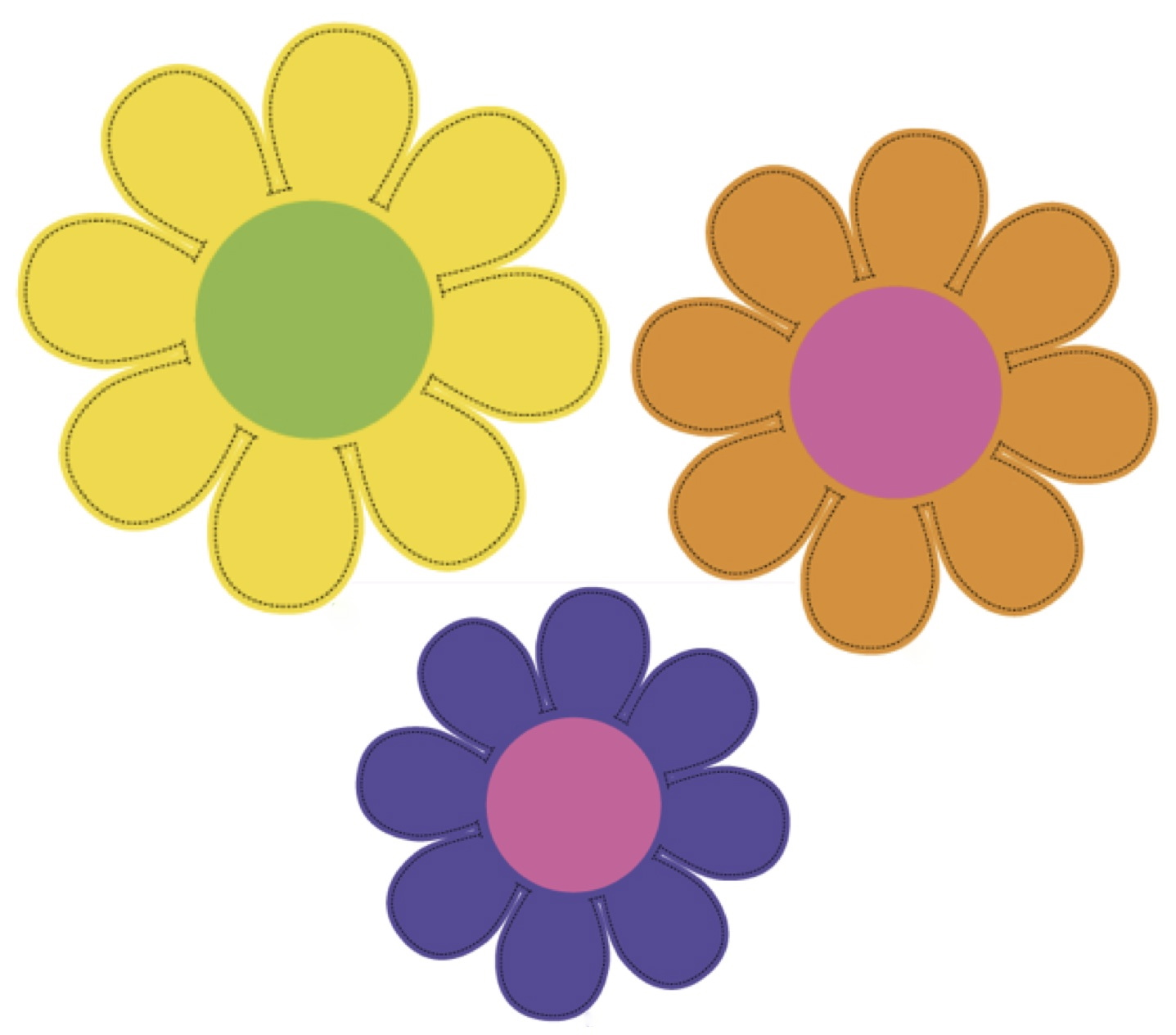 Pink Flower clipart hippie Art Flower BBCpersian7 Hippy flowers