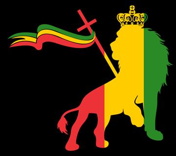 Reggae clipart lion Vinyl of Decal Car Rasta