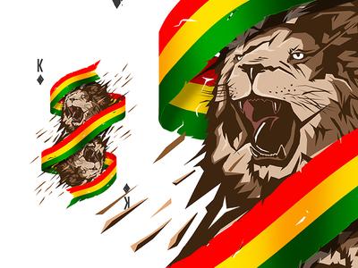 Reggae clipart lion By FutureForm Reggae Dribbble Reggae