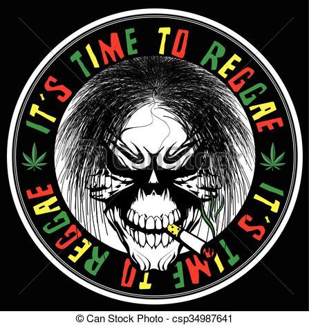 Reggae clipart logo Vector csp34987641 graphic  reggae