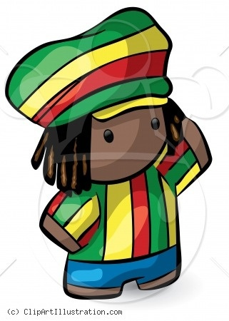 Reggae clipart rasta man ☮ Man on Rasta images