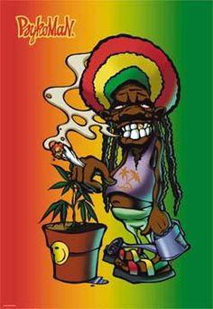 Reggae clipart rasta man More picture  Man Couleur