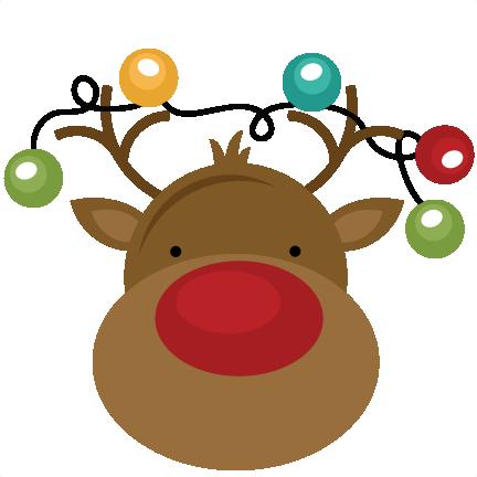 Sleigh clipart cute Clipart Clipart Reindeer Free Free