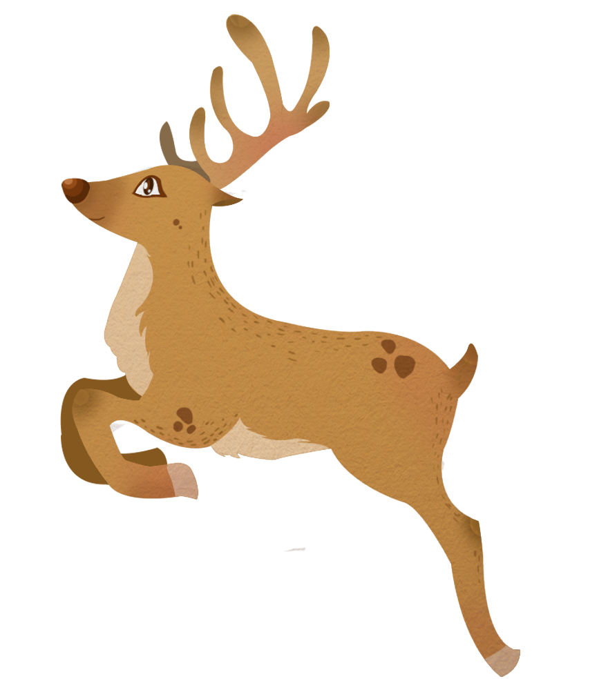 Reindeer clipart Perfect Public & Domain cards