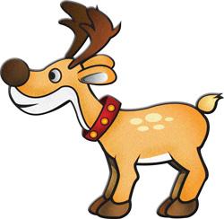 Reindeer clipart Reindeer and clipart clipart #11011