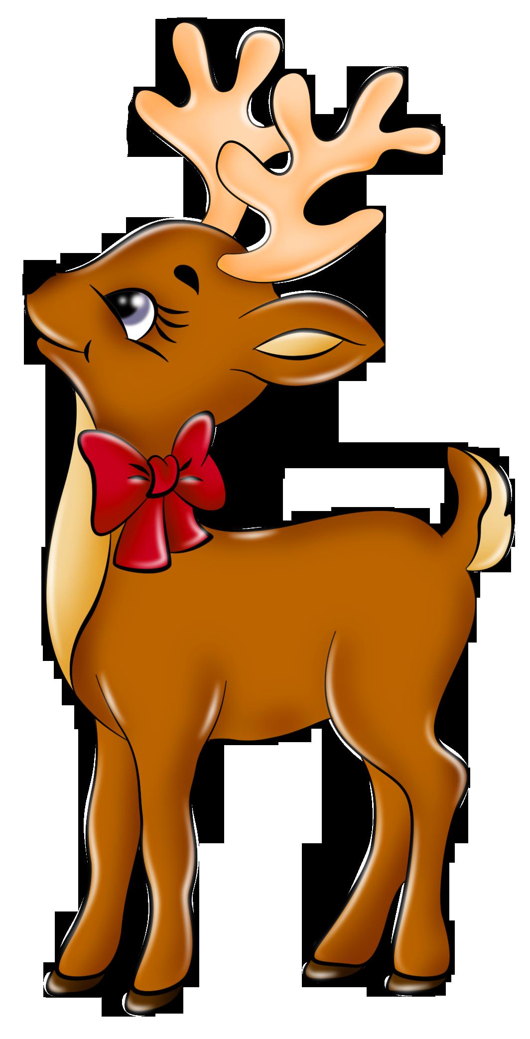 Reindeer clipart Clipart  Free Art Cute