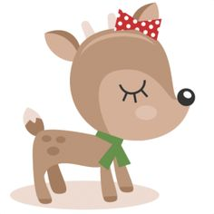Reindeer clipart girly Clipart clip red nose Collection
