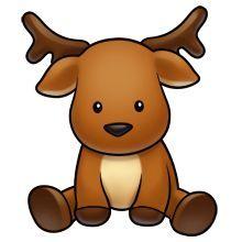 Reindeer clipart girly Kawaii Apples clipart Google Clip