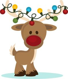 Reindeer clipart girly Nosed $0 Reindeer the Designs