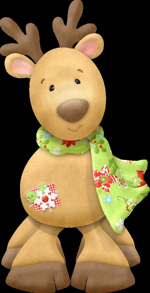 Reindeer clipart girly CLIPART CLIP  CHRISTMAS REINDEER
