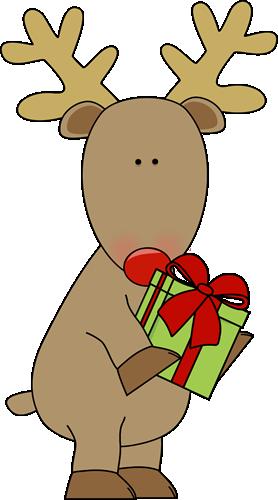 Reindeer clipart girly Christmas christmas reindeer Reindeer clipart