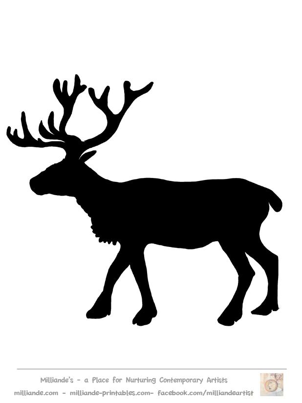 Reindeer clipart love #7