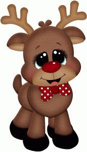 Reindeer clipart love #8