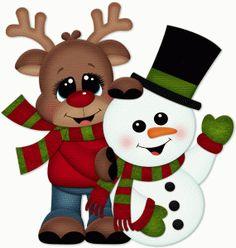 Reindeer clipart love #10
