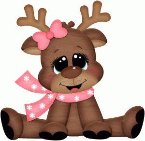 Reindeer clipart love #9