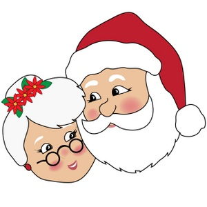 Santa clipart mrs claus #3