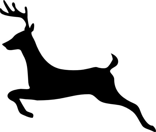 Reindeer clipart reindeer flying #4