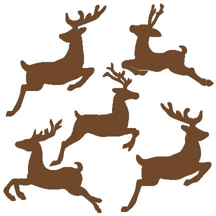 Reindeer clipart reindeer flying #2