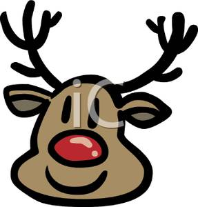 Reindeer clipart rudolph the red reindeer #5