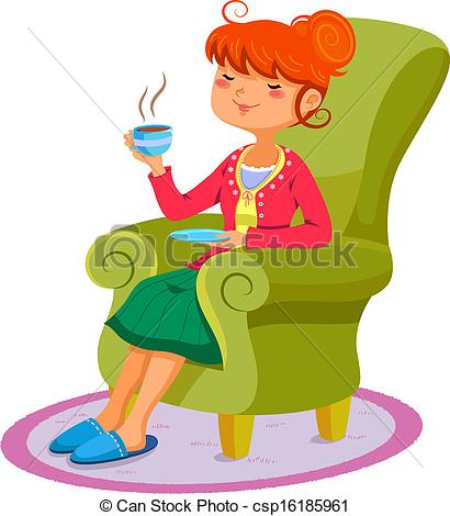 Relax clipart Person Relaxed clipart collection Relaxing