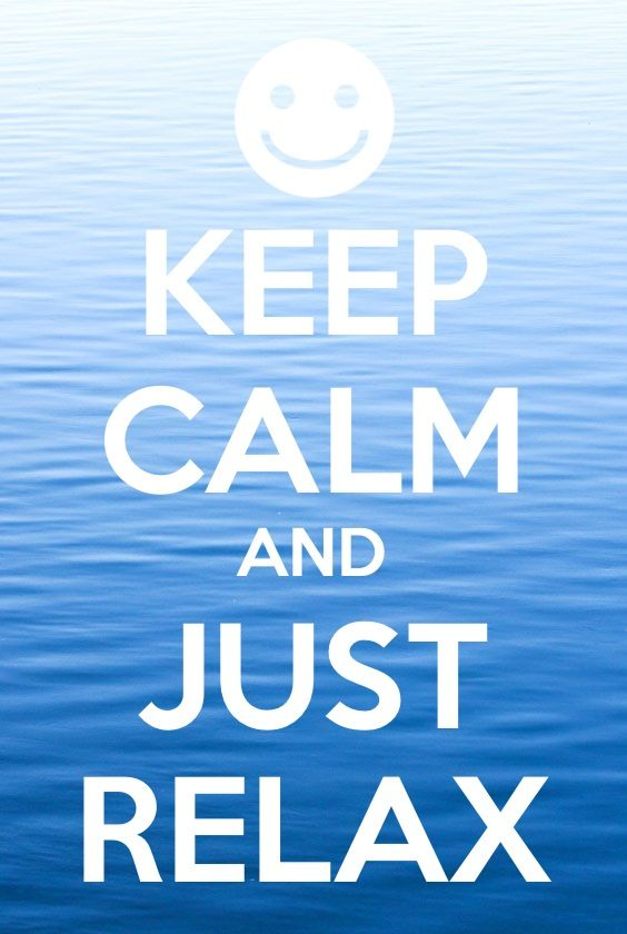 Relax clipart calm #13