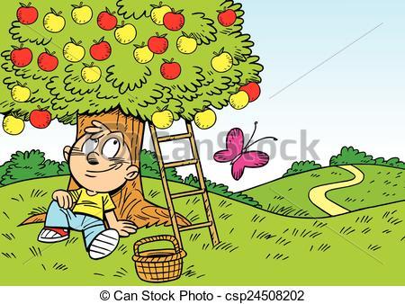 Relax clipart gardening #4