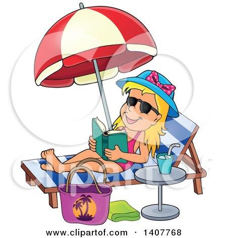 Relax clipart sun bathing #6