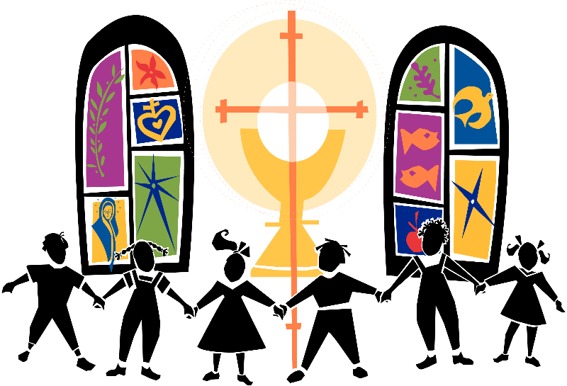 Singer clipart youth choir Catholic clipart Catholic religion collection