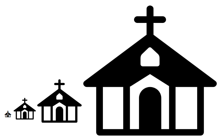 Steeple clipart small church  Request: Icon Awesome church