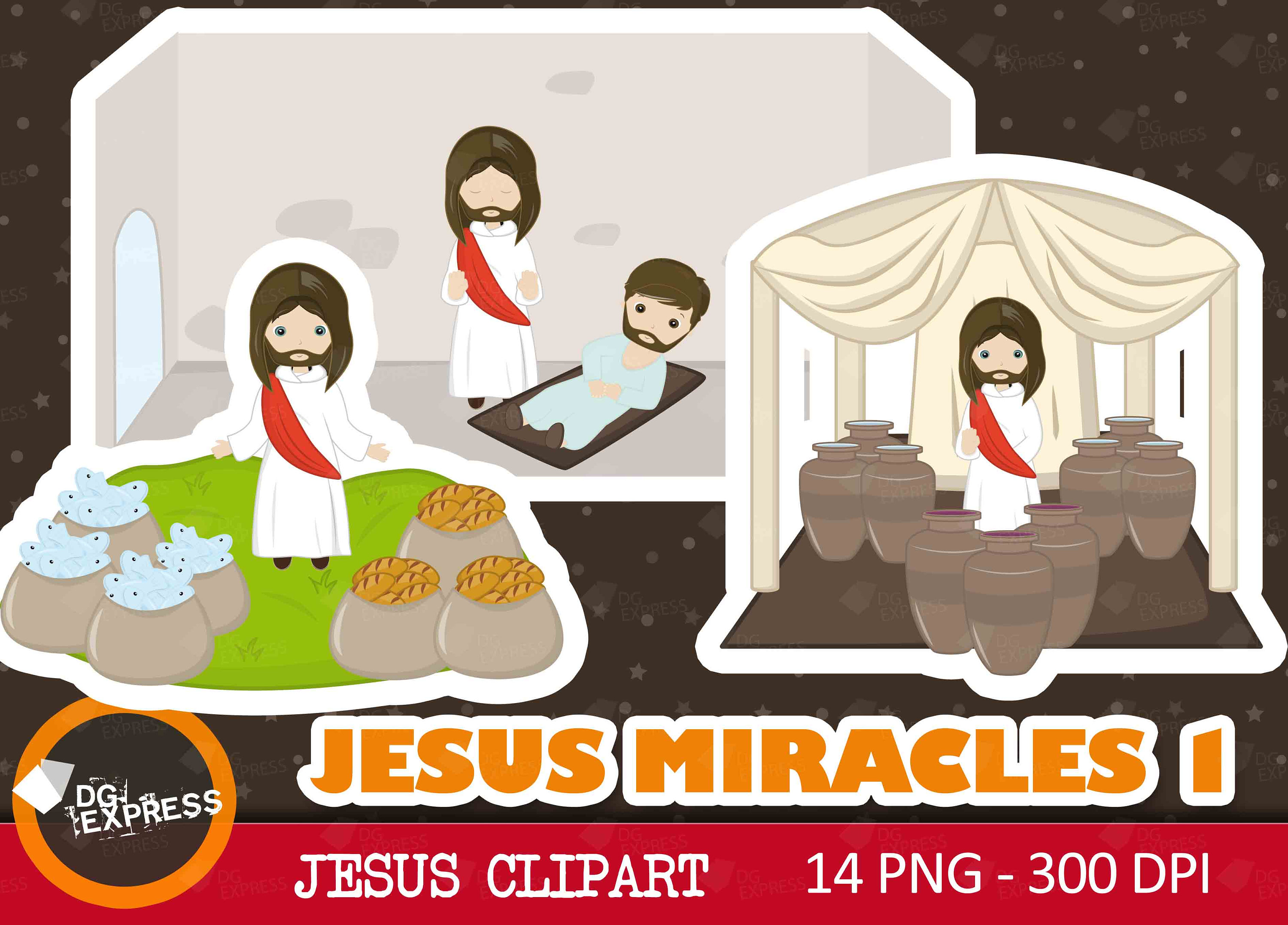 Stories clipart religious Clipart is Miracles digital :