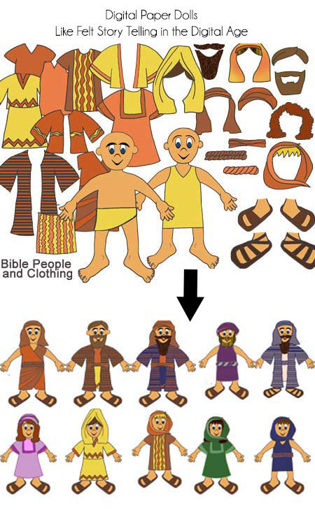 Religion clipart bible story #8