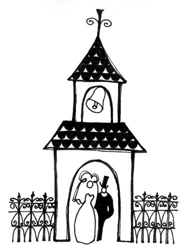 Church clipart wedding church Religious Art Free Catholic wedding