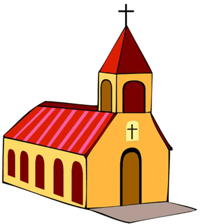 Religion clipart child church #12
