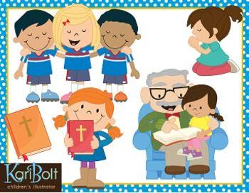 Religion clipart children's church Children Bible Art images Clip