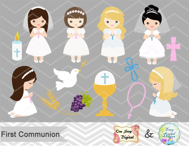 Religious clipart first communion #2