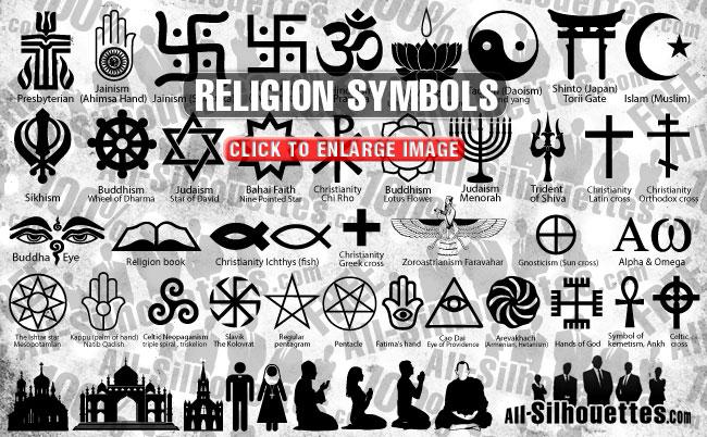 Religion clipart jain religion Religion religion symbols symbols Silhouettes