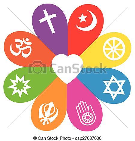 Symbol clipart religion Of Love Religious csp27087606 Colors