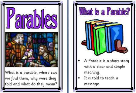 Religion clipart parable #4